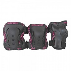 Комплект захисту Tempish FID Black/Pink (S)