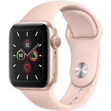 Apple Watch 5 40mm GPS Gold Aluminum Pink Sand Sport Band (MWV72)