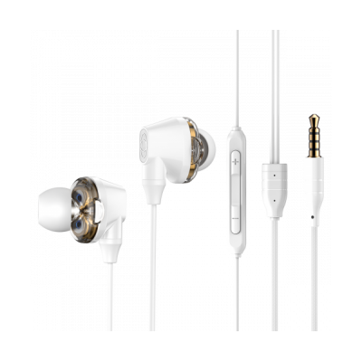 Гарнітура Baseus Encok H10 NGH10 Dual Moving-coil Wired White