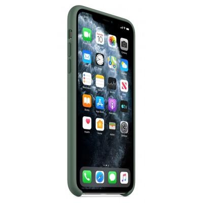 Накладка iPhone 11 Pro Silicone Case Pine Green