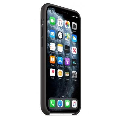 Накладка iPhone 11 Pro Silicone Case Black