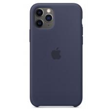 Накладка iPhone 11 Pro Silicone Case Midnight Blue