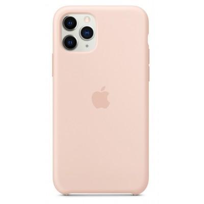 Накладка iPhone 11 Pro Silicone Case Pink Sand