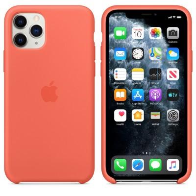 Накладка iPhone 11 Pro Silicone Case Clementine