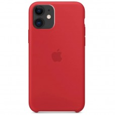 Накладка iPhone 11 Silicone Case Red