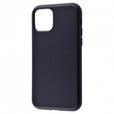 Накладка iPhone 11 Pro Grainy Leather Black