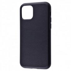 Накладка iPhone 11 Pro Max Grainy Leather Black