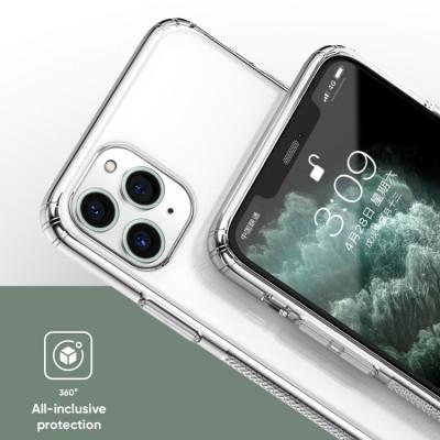 Накладка iPhone 11 Pro Joyroom Plating Series Transparent-Black
