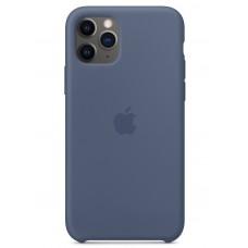 Накладка iPhone 11 Pro Silicone Case Аlaskan Blue