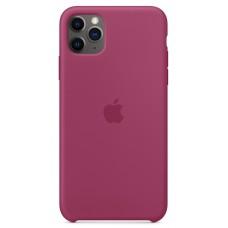 Накладка iPhone 11 Pro Max Silicone Case Pomegranate