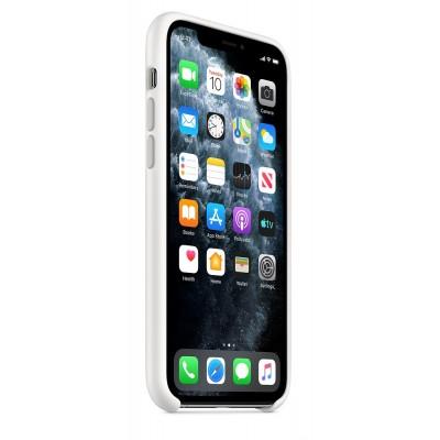 Накладка iPhone 11 Pro Silicone Case White MWYL2 (original)