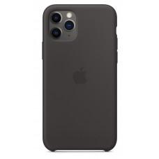 Накладка iPhone 11 Pro Max Silicone Case Black MX002 (original)