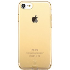 Накладка iPhone 7 BASEUS Simple Transparent-Gold