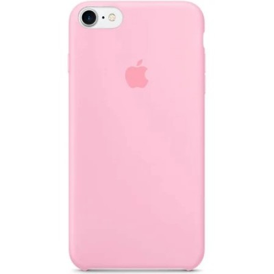 Накладка iPhone 7 Silicone Case Without logo Pink