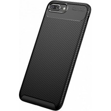 Накладка iPhone 7 Plus TOTU Soft Carbon Fiber Black