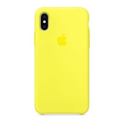 Накладка iPhone X Silicone Case Flach (middle)