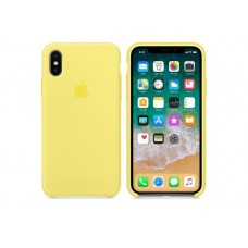 Накладка iPhone X Silicone Case Lemonade (middle)