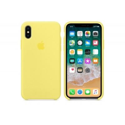 Накладка iPhone X Silicone Case Lemonade (middle)