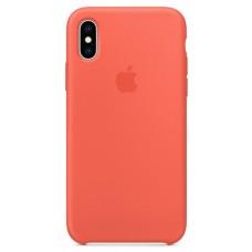 Чехол iPhone XS Silicone Case Nectarine (Copy)