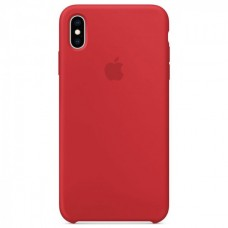 Чехол iPhone XS Max Silicone Case Red