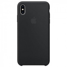 Чехол iPhone XS Max Silicone Case Black