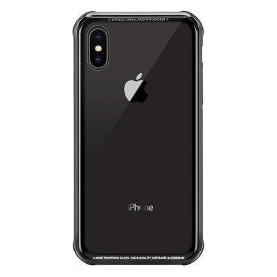 Накладка iPhone XS Max SWITCHEASY Black