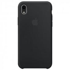 Чехол iPhone XR Silicone Case Black