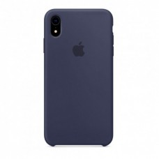 Чехол iPhone XR Silicone Case Midnight Blue