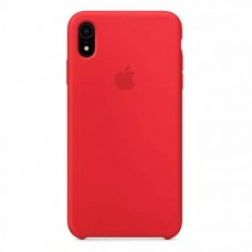 Чехол iPhone XR Silicone Case Red
