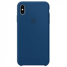 Чехол iPhone XS Max Silicone Case Blue Horizont