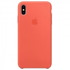 Чехол iPhone XS Max Silicone Case Nectarine