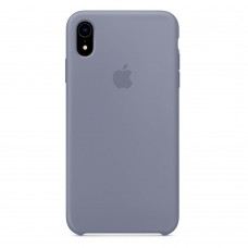 Чехол iPhone XR Silicone Case Lavander Grey