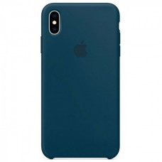 Чехол iPhone XS Max Silicone Case Pacific Green