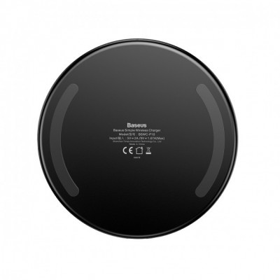 БЗ Wireless Charger Baseus Simple Black