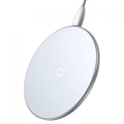 БЗ Wireless Charger Baseus Simple White