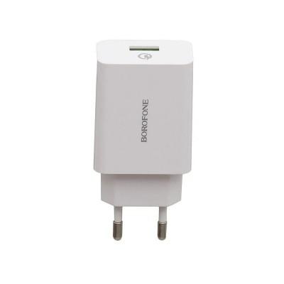 Зарядний пристрій Borofone A17A Quick Charge 3.0