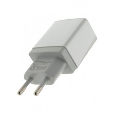 Зарядний пристрій WUW C62 2USB 2.1A  white