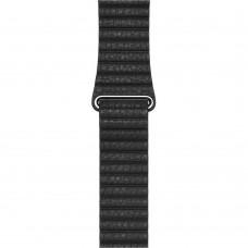Ремінець Apple Watch 42mm Leather Loop Black