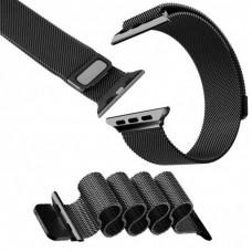 Ремінець Apple Watch 42mm COTEetCI Space Black Milanese Loop