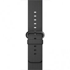 Ремінець Apple Watch 38mm COTEetCI Nylon Sport Black