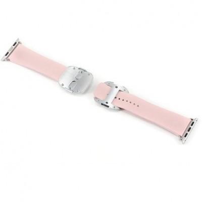 Ремінець Apple Watch 42mm COTEetCI Nobleman Band Pink
