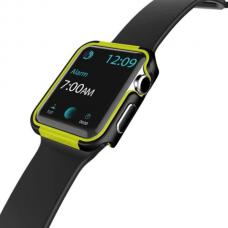 Чохол Apple Watch 42mm X-daria Defense Edge Yellow
