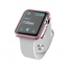 Чохол Apple Watch 42mm X-daria Defense Edge Pink