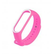 Ремінець для фітнес-браслета Xiaomi Mi Band 3 Pink/White