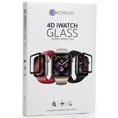 Захисне скло Apple Watch 4 44mm COTEetCI 4D Glass