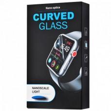 Захисне скло Clear Full Glue + Lamp Apple Watch 38 mm