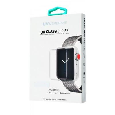 Захисне скло UV Membrane + Lamp Apple Watch 44 mm