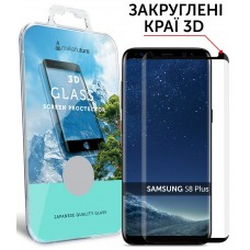 Захисне скло Samsung Galaxy S8 Plus MakeFuture (MG3D-SS8PB) 3D Black