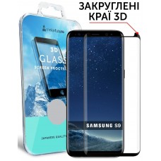 Захисне скло Samsung Galaxy S9 MakeFuture (MG3D-SS9B) 3D Black