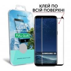 Захисне скло Samsung Galaxy S9 (G960) MakeFuture 3D FULL GLUE Black